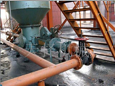 电厂输灰系统使用现场